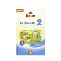 德国Holle凯莉泓乐有机奶粉2段(6-10个月宝宝)600g 德文版 保质期到17年1月份底
