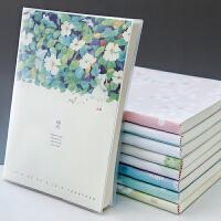 笔记本文具本子加厚简约韩国小清新16K记事本B5大号软面抄胶套本