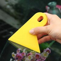汽车贴膜工具黄色耐温小刮板碳纤维专用刮板改色膜刮板耐磨