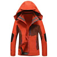 豹迹冬装新款女士内胆可脱卸二件套冲锋衣 15C188户外防寒外套
