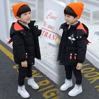 儿童装冬装男童棉袄冬衣中小童外套