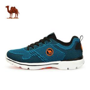 骆驼牌情侣款健步鞋女 轻便跑步鞋透气减震运动男女鞋