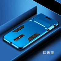 诺基亚X6手机壳带钢化膜nokia x6防摔硬壳全包边TA-1099新款男女