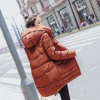 棉袄女2018新款韩版学生冬季中长款加厚棉衣外套女士棉衣服