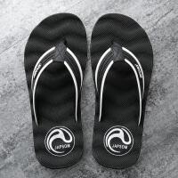 拖鞋男夏季洗澡用人字拖个性耐穿浴室沙滩鞋男士休闲时尚外穿凉鞋夏季百搭鞋 40 标准运动码 男款