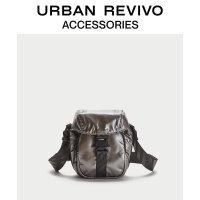 URBAN REVIVO2020冬季新品男士配件休闲质感斜挎包AM36TB4N2000