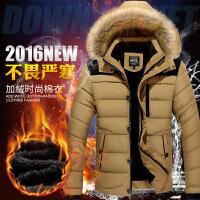 冬季棉衣男士外套棉服加厚韩版修身连帽青年大码棉袄潮男装