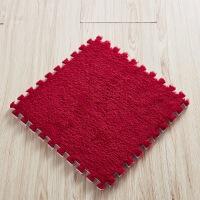拼图 毯宝宝爬爬垫泡沫 垫拼接卧室客厅 板垫毛绒 毯垫榻榻米 30*30(厚度1.0cm)