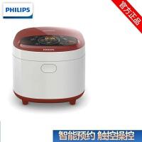 飞利浦(Philips) 电饭煲 24小时预约 黑晶内胆电饭锅 4L五层黑晶HD4532/00 三维立体加热