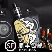 美国正品 CKS 200w电子烟大 烟雾温控调压盒子蒸汽烟戒烟产品黑色(不含雾化器)