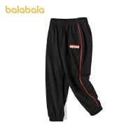 【品类日4件4折】巴拉巴拉童装儿童裤子男童运动裤休闲慢跑裤2021新款春装潮酷个性