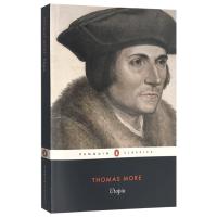 正版现货 乌托邦 英文原版社会科学书 Utopia 托马斯莫尔 英文版西方经典名著 进口英语书籍 Penguin Cl