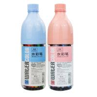 真彩 小学生儿童可水洗彩色绘画笔 创意漂流瓶36色桶装水彩笔 套装