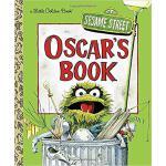 英文原版 芝麻街 奥斯卡的书 Oscar's Book (Sesame Street)