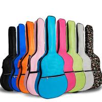 木吉他包加棉40寸41寸多色背包拨片个性彩色双肩民谣
