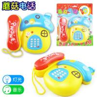婴儿童玩具电话卡通灯光音乐电话机宝宝益智玩具1-3岁