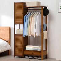 淘之良品简易衣柜现代简约出租房家用实木布艺组装儿童卧室柜子衣橱