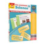 Evan-Moor Skill Sharpeners Science Grade 1 小学一年级科学科目练习册 美国加