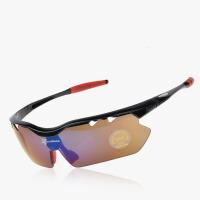 偏光骑行眼镜 男女款户外运动防风自行车眼镜带近视架