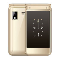纽曼 V9升级版F9 翻盖老年手机大屏大字大声移动老人手机 2.8英寸双大屏 持久待机男女款