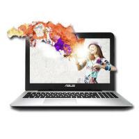 华硕(ASUS)新品 超薄笔记本电脑轻薄便携 A555BP9010 全固态独显手提游戏 黑色 E2-9010 4G 128SSD 标配 R5M420-2G独显