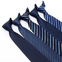 8cm领带男英伦黑色商务正装职业工作男士结婚新郎伴郎领带