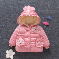 女童冬装棉衣外套婴儿棉袄女宝宝冬季棉衣洋气