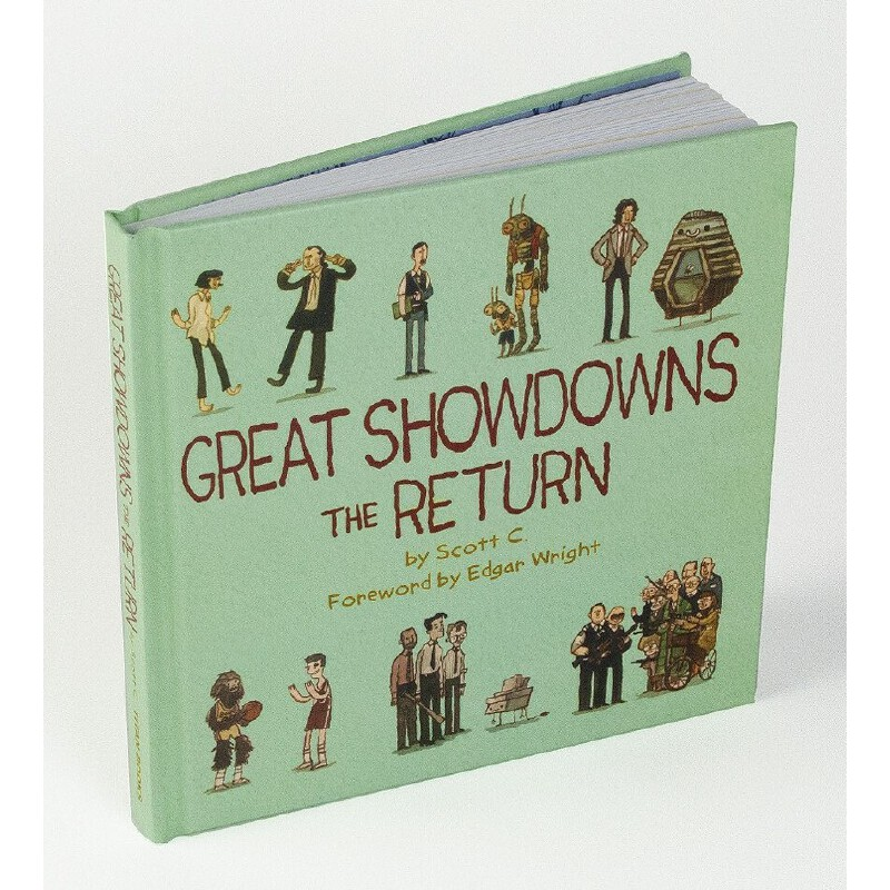 英文原版 Scott Campbell的异想电影插画:归来 Great Showdowns: The Return
