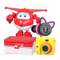 奥迪双钻超级飞侠玩具乐迪变形机器人多多小爱豪华版机器人乐迪