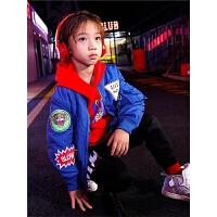 男童外套秋冬装儿童夹克棉衣韩版中大童装