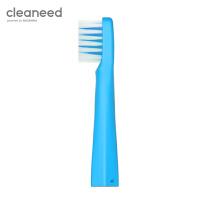 cleaneed 电动牙刷头 成人声波柔软敏感不伤齿 小白刷智能充电式 高伟光同款 蓝莓色*2