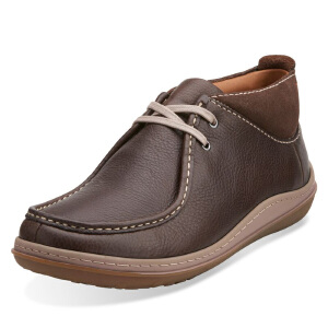 Clarks/其乐男鞋2017秋冬新款时尚系带短靴Gait Mid专柜正品直邮