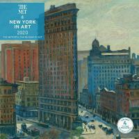 英文原版 大都会艺术博物馆 2020年挂历:艺术作品中的纽约 新年日历 进口礼品书 New York in Art 2