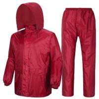 雨衣雨裤套装反光户外单人骑行男女电动车分体雨衣