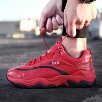 六葫猴 男鞋休闲鞋2019夏季透气网面运动鞋子男士老爹鞋韩版潮流板鞋学生旅游跑步鞋