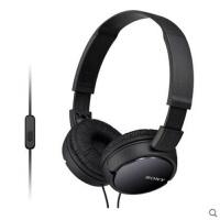Sony/索尼 MDR-ZX110AP 头戴式重低音耳机 手机通话折叠电脑耳麦