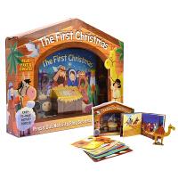 The First Christmas 圣诞节的起源 益智手工模型精装礼盒 原版