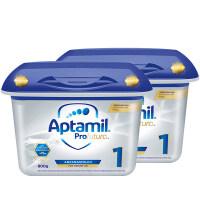 【1段白金】保税区发货 Aptamil爱他美 德爱白金版婴幼儿奶粉 一段(0-6个月) 800g*2罐 海外购