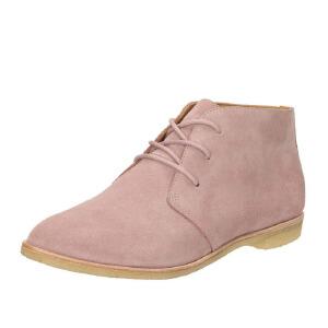 Clarks/其乐女鞋2017秋冬新款Originals复古时尚平底短靴Phenia Desert专柜正品直邮