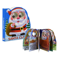 I'm Santa Claus 我是圣诞老人撕不烂纸板书 转动眼珠 原版