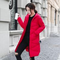 棉衣女中长款学生韩版加厚羽绒2018冬装新款女休闲