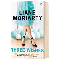 三个愿望 英文原版 Three Wishes 全英语女性小说 Big Little Lies大小谎言作者 Liane M