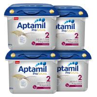 德国直邮 德国Aptamil爱他美白金版2段婴儿牛奶粉800g(6-10个月宝宝)宝盒装【4盒装】