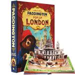 帕丁顿熊2 伦敦之旅 立体书 英文原版 Paddington Pop-Up London 同名电影儿童趣味书 精装收藏