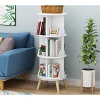儿童书柜转角创意旋转书架360度书柜现代简约置物架儿童转角桌上简易学生移动