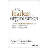 英文原版 无所畏惧的组织 金融时报商业书单 The Fearless Organization