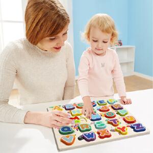 [当当自营]特宝儿2岁宝宝字母动物拼图拼图益智玩具120324
