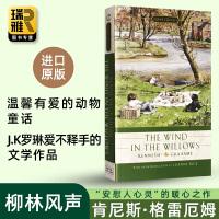 柳林风声 英文原版小说 The Wind in the Willows 英文版儿童文学书籍 进口英语童话故事书 正版现