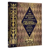The Archive of Magic 英文原版 神奇动物在哪里2 魔法档案设定集精装进口 Wizardry of