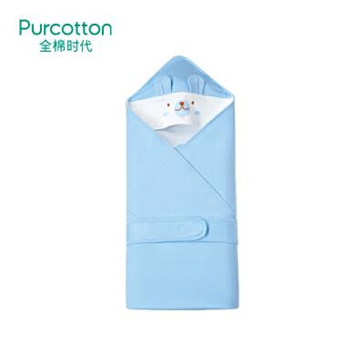 全棉时代 粉色婴儿针织抱被80cm×80cm1件装
